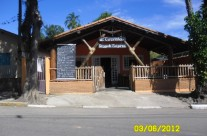 Fachada do restaurante, no antigo endereço